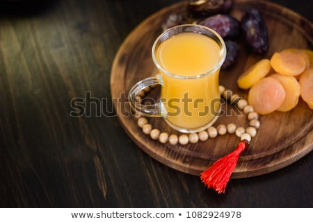 Fresh apricot juice Stock photo © Lana_M