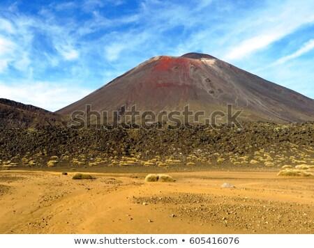 vue · haut · central · cratère · volcan - photo stock © oliverfoerstner