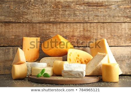 different sort of cheese Stock photo © M-studio