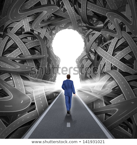 road key to success stock photo © lightsource