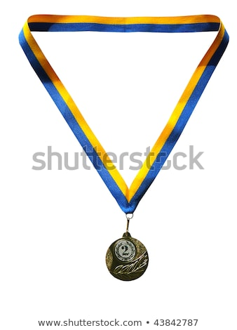 Close-up of athlete with olympic medal Stock photo © wavebreak_media