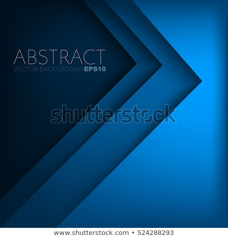 Modern blue vector background overlap paper with blank space for your text, blue oblique lines Stock photo © kurkalukas