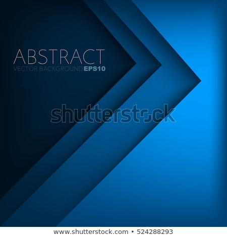 blanche · papier · flèche · ombre · affaires · présentation - photo stock © kurkalukas