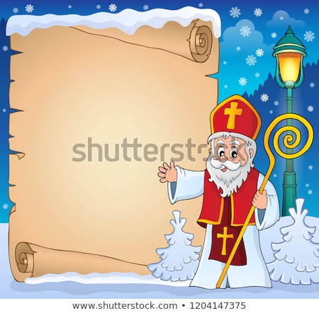 saint nicholas topic image 3 stock photo © clairev