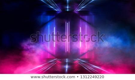 Concrètes tunnel fond stade Rechercher vers le bas Photo stock © albund
