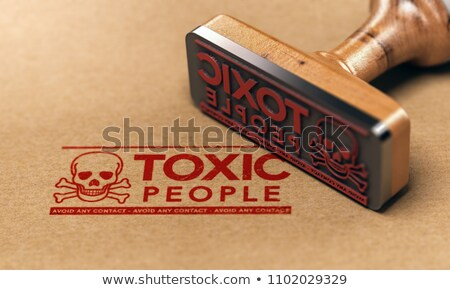Toxic People Psychology Stock photo © Lightsource