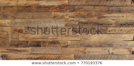 Donkere verweerde hout muur oude Rood Stockfoto © bobkeenan