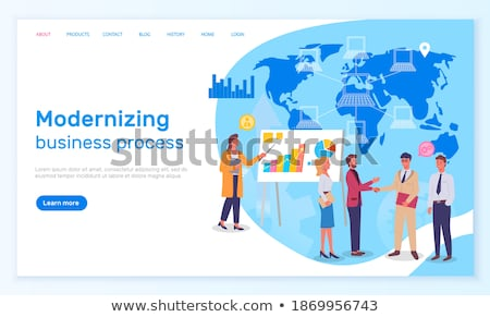 Modernizing Business Process, Businessman Deal Stock photo © robuart