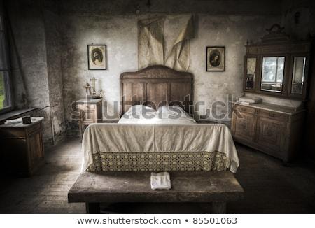 Arrepiante quarto cenário luz pintar quarto Foto stock © Lopolo