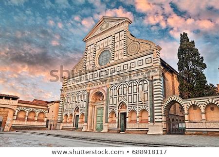 Basílica Florencia Italia iglesia primero Foto stock © borisb17