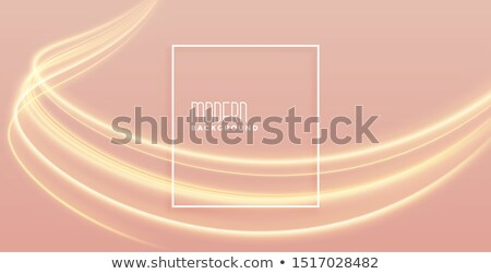elegant golden light streak background with text space Stock photo © SArts