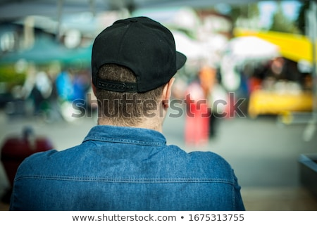 Urban man wearing baseball cap  Stock photo © Lopolo