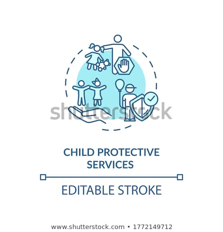 Child psychology vector concept metaphors. Stock photo © RAStudio
