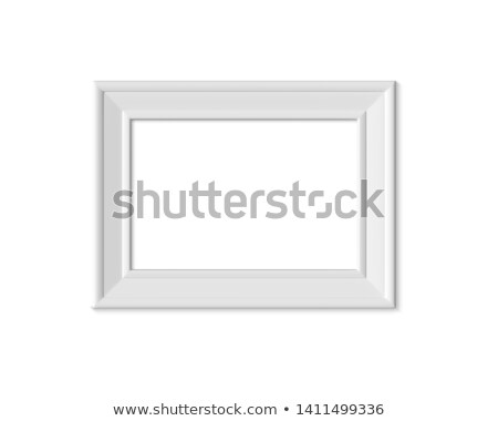 A4 Horizontal Blank Picture Frame for Photographs. Stock photo © tashatuvango