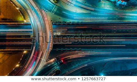 autók · mozog · gyors · autópálya · mozgás · elmosódott - stock fotó © blasbike