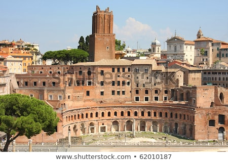 details of Trajan Market in Rome Stock photo © vladacanon