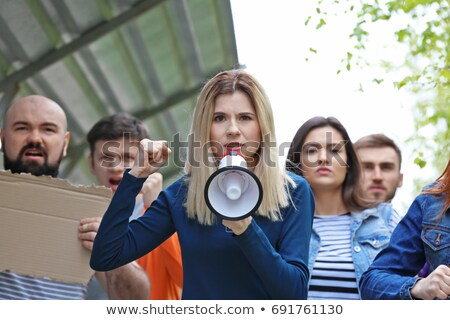 Young laborer gesturing Stock photo © photography33