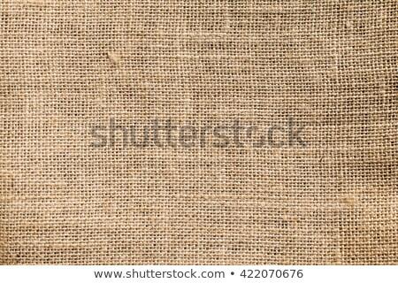 burlap or sacking or sackcloth texture Stock photo © m_pavlov