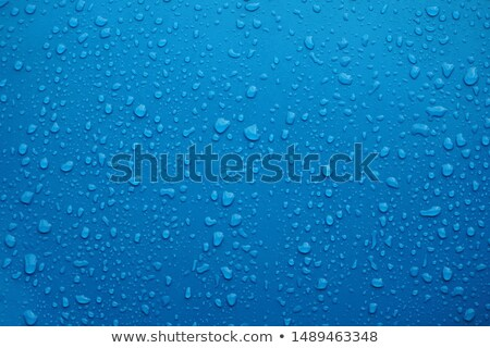 polished car bonnet with water drops Stock photo © pzaxe