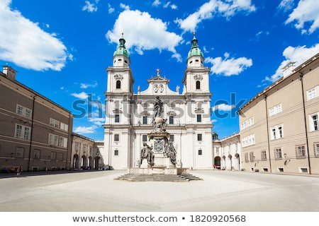 Barok kilise Bina kule din katedral Stok fotoğraf © manfredxy