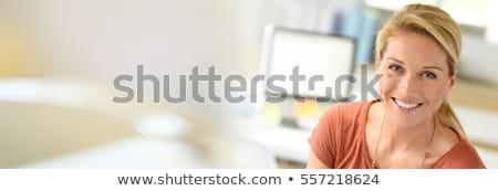 肖像 ブロンド 女性実業家 女性 執行 企業 ストックフォト © photography33