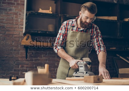 joiner using sander Stock photo © photography33