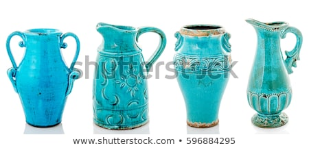 isolated blue vase stock photo © taviphoto