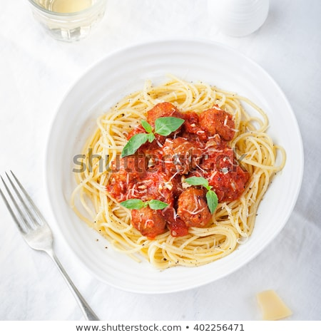 diner dish with noodles Stock photo © compuinfoto