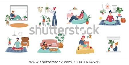 Relaxation Concept. stock photo © tashatuvango