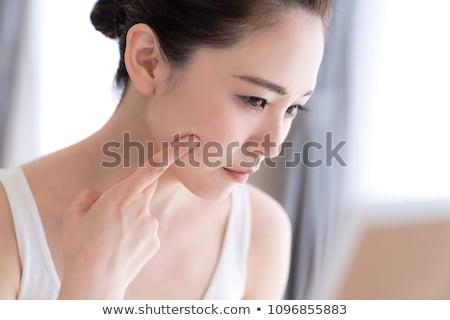 asian · meisje · huid - stockfoto © szefei
