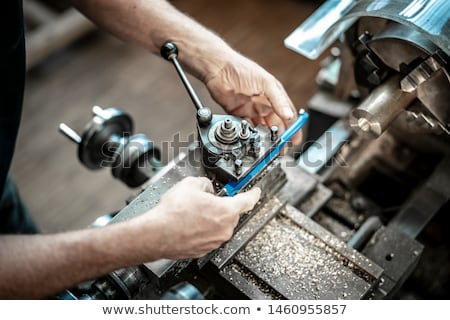 Turning lathe in the workshop Stock photo © mady70