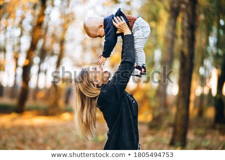 mother with baby. autumn Stock photo © Paha_L