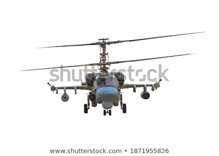 мнение русский военных вертолета Focus Сток-фото © kyolshin