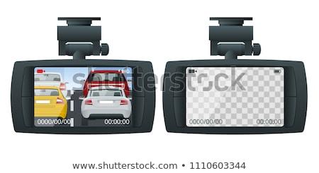In-Dash LCD-TV Screen Stock photo © ArenaCreative