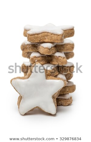 Hagyományos mézeskalács sütik cukormáz cukor fából készült Stock fotó © Rob_Stark