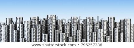bar · acciaio · bar · diverso · concrete · costruzione - foto d'archivio © claudiodivizia