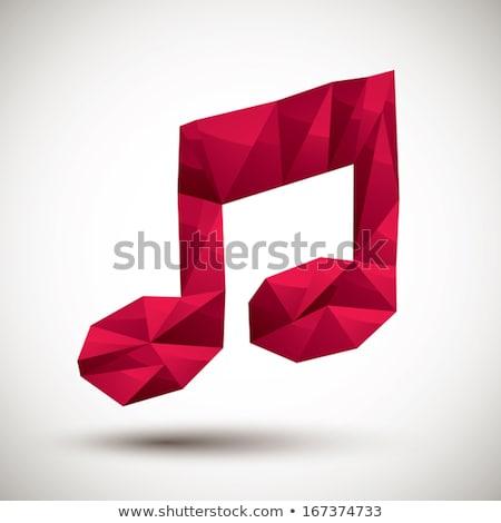 música · artístico · retrato · belo · jovem - foto stock © tashatuvango