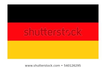флаг · Германия · шелковистый · ветер - Сток-фото © harlekino