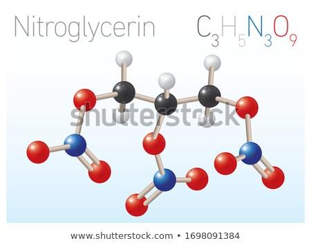 3D · 3d · illustration · bilim · laboratuvar · kimya - stok fotoğraf © limbi007