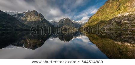twijfelachtig · geluid · New · Zealand · zeilen · zuiden · eiland - stockfoto © backyardproductions