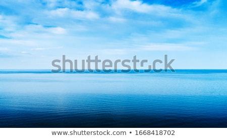 Oceano paisagem ártico nuvem padrão Foto stock © Arrxxx