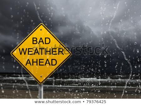 bad weather ahead stock photo © hofmeester