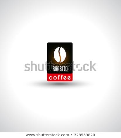 café · menu · conjunto · projeto · elementos - foto stock © davidarts