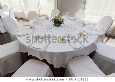Сток-фото: таблице · набор · события · вечеринка · цветок