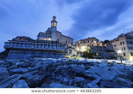 St Antonio Church in Genoa Stock photo © benkrut