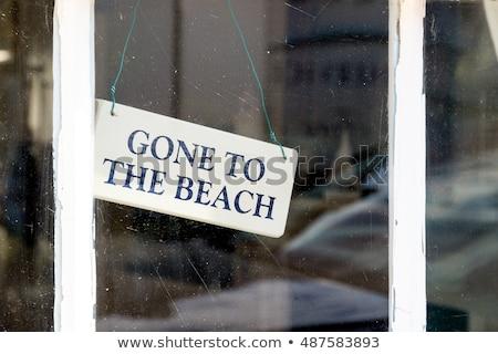 gone to swim stock photo © naumoid