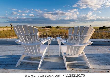 Coucher du soleil sable plage cape cod océan USA Photo stock © CaptureLight