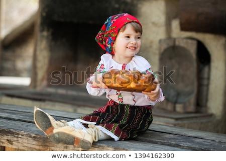 Menino traje ilustração criança estudante arte Foto stock © bluering