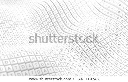 Ligne lecture clavier 3D clé Photo stock © tashatuvango