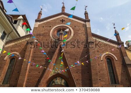 chiesa · torino · Italia · Europa · religione · antica - foto d'archivio © claudiodivizia